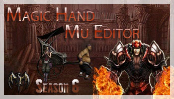 MagicHand Editor Season 6 - редактор для клиента MuOnline